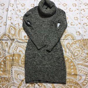 Love Culture Heather Gray Sweater Dress